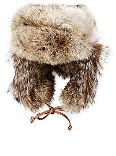 f3bb95d4360 Fur Trapper Hat. I still love mine! Snow Fashion