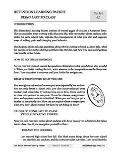 detention essay to copy I gave students this list of the behavior essay  i notified the parents and scheduled the student for detention to complete the  reflection journal.