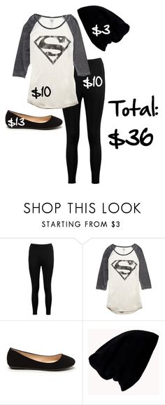 """""""Cute back to school alternative outfit for under 50$"""" by shaya-bvb-4-life ❤ liked on Polyvore featuring Boohoo and Forever 21"""