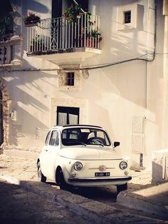 Fiat 500 a Ostuni