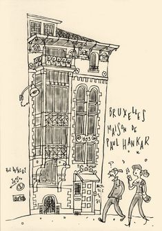Expositions, Urban Sketching, Illustrations, Brussels, Buildings, Paris, Sketch, House, Draw