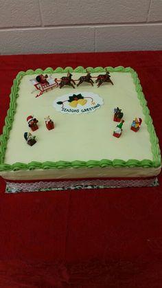 Red Velvet Cake Christmas Theme