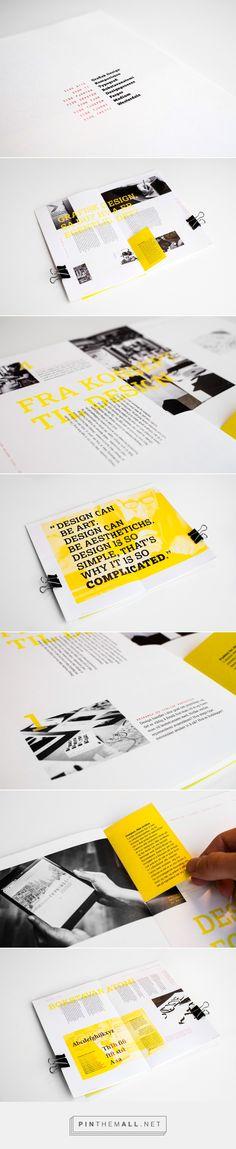 Designotis Magazine on Behance - created via http://pinthemall.net