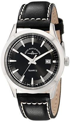 Zeno Men's Vintage Line Analog Display Quartz Black Watch by Zeno -- Awesome products selected by Anna Churchill Basel, Omega Watch, Gentleman, Quartz, Display, Watches, Luxury, Stuff To Buy, Shopping