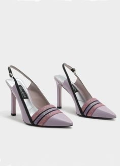 Charles & Keith Glitter Detail Leather Heels, $69, [Charles & Keith](https://www.charleskeith.com/us/shoes/shoes-all/heels/glitter-detail-leather-heels-lilac-sl1-60360200.html){: rel=nofollow}
