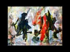 Abstract PAINTINGS by Carmelo Pistorio, artist in Rome, Italy, email: graalt@libero.it, video n° 10 - YouTube