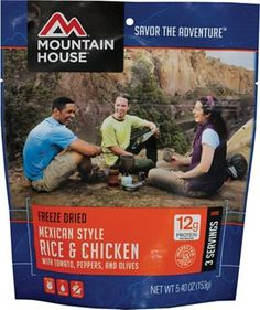 Mountain House Mexican Style Chicken With Rice