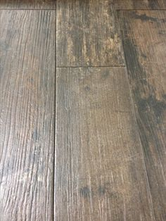 """Hard wood """"tile"""". Love the look and how durable it is."""