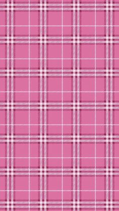 iPhone 5 pink tartan wallpaper