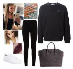 """Untitled #1941"" by outfitstowear ❤ liked on Polyvore featuring NIKE, 7 For All Mankind and Givenchy"