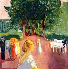 Flirting in the Park 1942