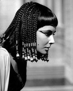 """Elizabeth Taylor for """"Cleopatra"""" (1963)"""