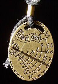 Sundials as Jewelry