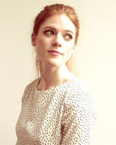 Valentina (in face/hair color, but not hair texture) / Rose Leslie