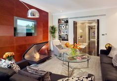 Lounge of the Jaguar Suite at 51 Buckingham Gate Apartments in Victoria, London.