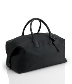 Chassis Small Holdall - Men's Designer Leather Briefcases, Bags & Luggage - dunhill