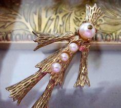 Hattie Carnegie Vintage Scarecrow Brooch Pin by VintagObsessions, $75.00