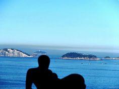 Vista do morro do Vidigal (Arquipélago das Ilhas Cagarras ao fundo) - Rio de Janeiro (byericanee)