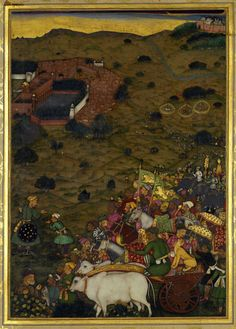 A Royal procession of Shah Jahan