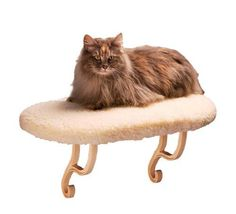 K&H Manufacturing Kitty Sill 14-Inch by 24-Inch Fleece
