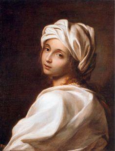 Beatrice Cenci *, 1662 Ginevra Cantofoli (Itália, 1618-1672) Anteriormente atribuído a Guido Reni (Itália, 1575 -1642) óleo sobre tela, 65 x 49 cm Galleria Nazionale d'Arte Antiga, Palazzo Barberini, Roma * Hoje esse quadro é chamado de Sibil