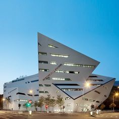 New York architect Daniel Libeskind has completed a media centre for the City University of Hong Kong