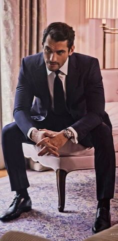 Sharp dressed Men's style / karen cox. David Gandy by Mariano Viavanco for Vanity Fair Spain May 2014
