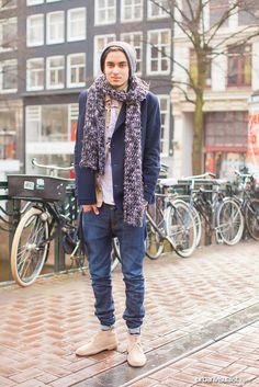 Sofyan [ Street Style - fashion, street fashion, streetstyle, menswear, Urban Visualist ]  See original post on www.urbanvisualist.com
