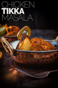 Tikka Masala is a versatile dish that can be meat or vegetarian and is the Grand Daddy of Anglo Indian Curries. My chicken tikka masala recipe features traditionally grilled marinated chicken in a spicy fragrant tomato based sauce. Best Chicken Recipes, Spicy Recipes, Curry Recipes, Indian Food Recipes, Cooking Recipes, Potato Recipes, Grilling Recipes, Pasta Recipes, Crockpot Recipes