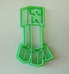 Minecraft Creeper Cookie Cutter by WarpZone on Etsy