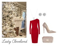 """""""Lady Cleveland"""" by yuvette on Polyvore featuring Donna Karan, Jimmy Choo and Michael Kors"""
