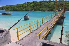 Nusa Lembongan suspension bridge. Connecting nusa ceningan and nusa lembongan. Totally going here!!