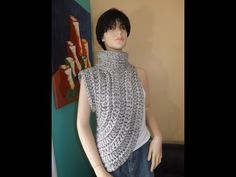 How to Crochet The Katniss Inspired Cowl or Wrap - YouTube