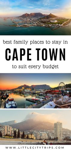Planning a family trip to Cape Town? Where do you find the best family-friendly hotels & accommodation in Cape Town? An area guide plus our hand-picked favourites to suit every budget Cape Town Accommodation, Cape Town Hotels, City Break, Best Cities, Travel Advice, Family Travel, Travel Destinations, Places To Go, Budget