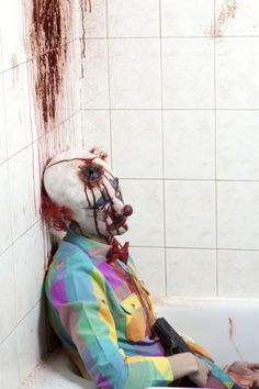 Dead Clown. Just for you @Amanda Snelson Snelson Snelson smith!! Is this how u like them?