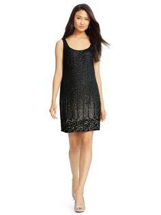 Beaded Shift Dress - Lauren Dresses & Skirts - RalphLauren.com