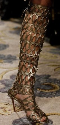 Christian Louboutin @ Marchesa FW2012....oh oh oh...yes yes yes! Love!!