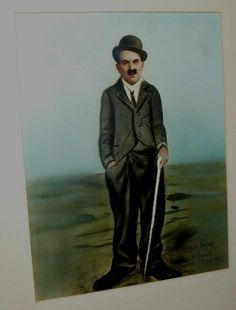 #162 -10 INCH X 14 INCH WALL DECOR HAND COLORED ANTIQUE PHOTO JACK JACOBY AS CHA
