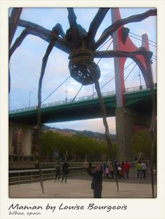 Maman in Bilbao, Spain