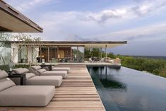 contemporist - modern architecture - woha designs - alila villas uluwatu - uluwatu - bali - exterior view - swimming pool