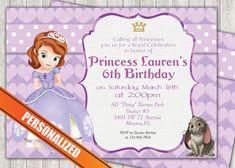 Princess Sofia Greeting Card PC043