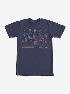 96fdeb6d Nintendo Super Mario Classic Stripes T-Shirt. Super MarioGraphic TeesGraphic  ...