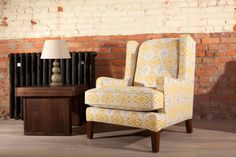 Our Academy chair is a perfect occasional chair to go with any sofa, it's particularly popular with gentlemen who like the higher back which gives great head support. Wing Chair, Wingback Chair, Fabulous Fabrics, Occasional Chairs, Fabric Sofa, Home Collections, Contemporary Style, Armchairs, Sofas
