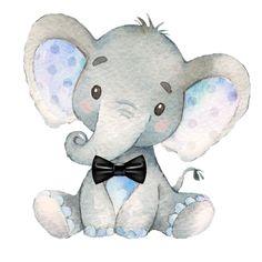 Baby Boy Elephant Nursery Print JPEG 8 by 10 / Digital File – Elefanten – – Baby Shower İdeas 2020 Baby Elephant Drawing, Baby Elephant Nursery, Elephant Theme, Elephant Baby Showers, Elephant Love, Baby Boy Shower, Nursery Boy, Elephant Print, Nursery Decor
