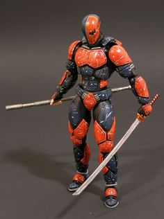 Deathstroke (Anime Style) (DC Universe) Custom Action Figure