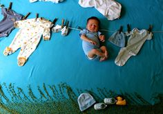Cute and random baby picture ideas    This and That from Tami: Baby Pictures Anyone Can Do