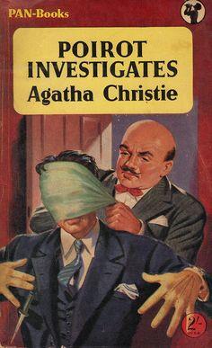 Vintage cover - Poirot Investigates