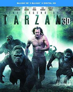 The Legend of Tarzan [Blu-ray 3D + Blu-ray + Digital HD]