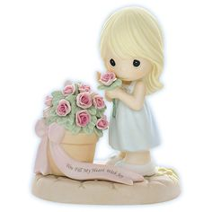 Precious Moments Figurines | Precious Moments Love Figurine - You Fill My Heart With Joy (RETIRED ...