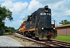 RailPictures.Net Photo: WLE 110 Wheeling & Lake Erie EMD GP35 at East Sparta, Ohio by Matt Delsander